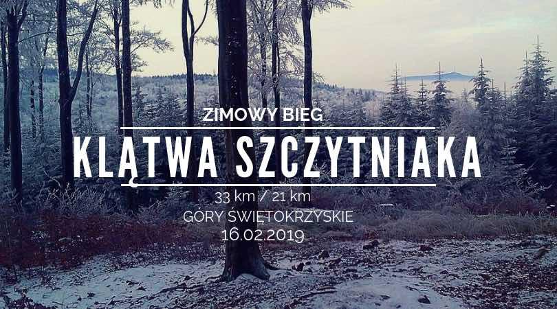 Bieg w Górach Świętokrzyskich