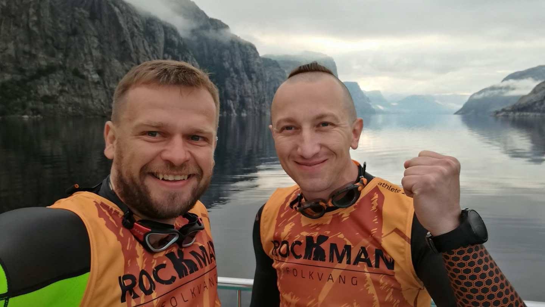 Polacy na Rockman Swimrun